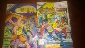 Comics antiguos de Batman clasicos