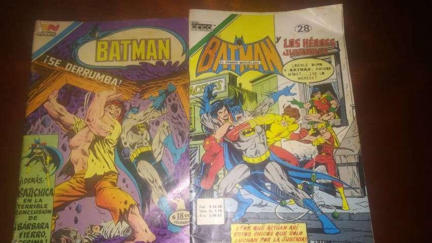 Comics antiguos de Batman clasicos