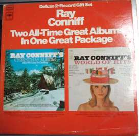 """RAY CONNIFF """"Here We Come A-Caroling / World Of Hits (Vinyl, 2 Lps, 27.00) """""""