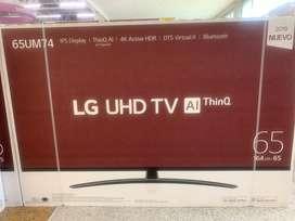 Led 65 Lg smart 4k Ref 7400 nuevo