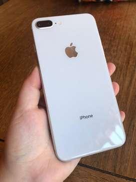 Vendo iphone 8 plus platiado