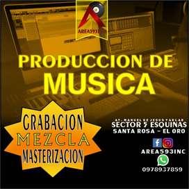 Producción de Musica