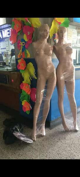 Vendo maniquies mujer para almacen de ropa