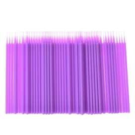 100 Microbrush Microblading Micropigme Pestañas Pelo A Pelo