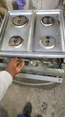 Reparación y mantenimiento de estufas y hornos