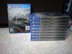 Final fantasy stormblood PS4