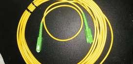 cable de fibra optica 3 metros