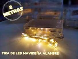 Tira LED navideña