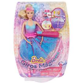 Giros Magicos Barbie Princess Power hermanas carrusel gira y gira