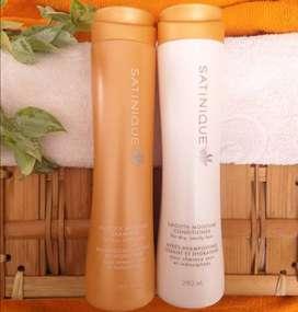 Shampoo y acondicionador Brillo e Hidratación - Satinique