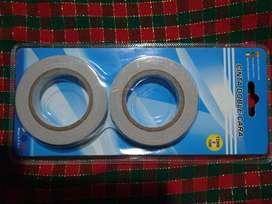 cinta doble cara de máxima calidad, rollo por 10 metros