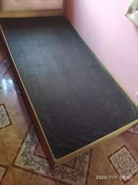 Combo de base cama+espaldar+nochero