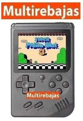 Mini Nintendo Clasico De Mano Con 400 Juegos