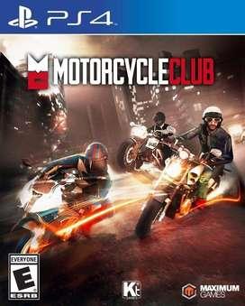 MOTORCYCE CLUB PS4