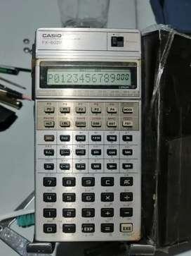 Calculadora Casio fx 602 p científica programable clásica  funciones