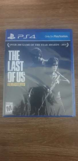 "VENDO "" the last of us "" NUEVO"