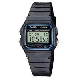 Reloj Casio f91w clásico