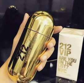 Promoción de perfumes importados