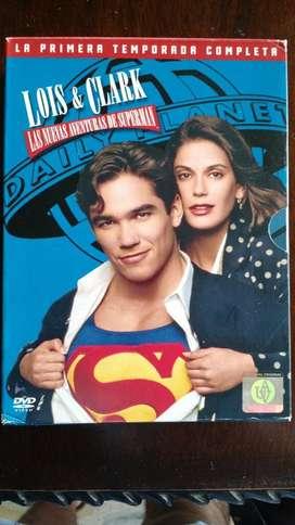 PELICULA EN DVD ORIGINALES SERIE COMPLETA DE SUPERMAN