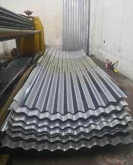 Tejas de zinc original galvanizada o lámina grafada.