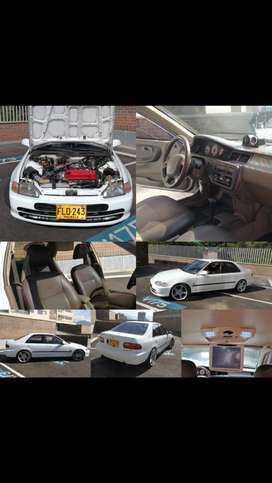 Espectacular honda civic turbo con muchos extras