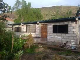 Casa y terreno en 80 mil dolares