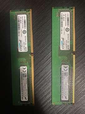 Memoria DDR4 4GB escritorio