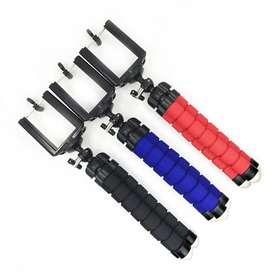 Soporte Universal Tripode Flexible Celular Camara Araña para samsung S8 S8 S9  S9 S10 S10 S10E