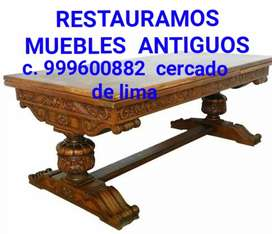 RESTAURÓ MUEBLES ANTIGUOS
