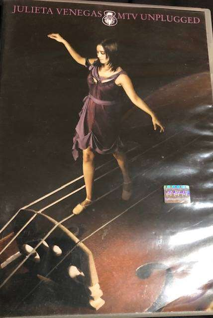 JULIETA VENEGAS - DVD MTV Unplugged