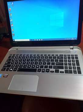 Laptop toshiba core i7 con tarjeta grafica