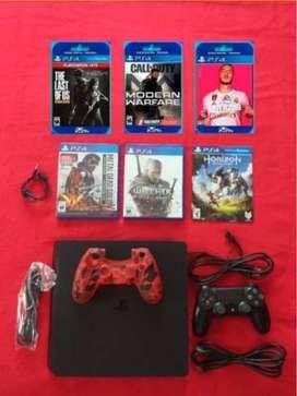 Playstation 4 Ps4 - Usado (4 Meses De Uso)