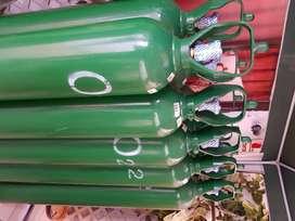balones de oxigeno cargados de 10 m³