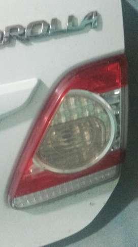 Faros tras Int de Toyota Corolla 2012