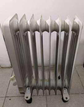 Estufa eléctrica - Radiador eléctrico aceite Welco 1500 W