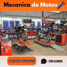 curso mecanica para motos