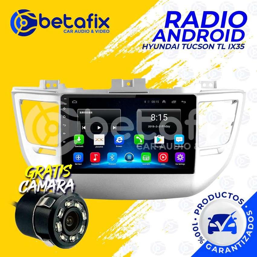 RADIO ANDROID HYUNDAI TUCSON TL IX35 2015/18 GPS BT USB WIFI BETAFIX DESDE 0