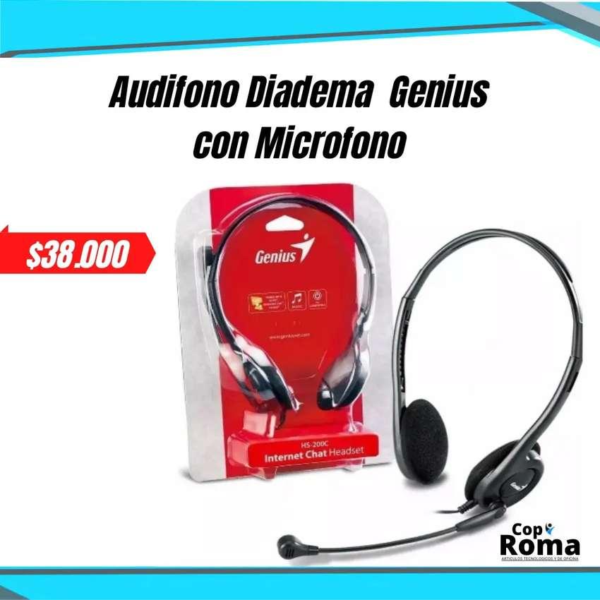 Auriculares Con Micrófono Genuis