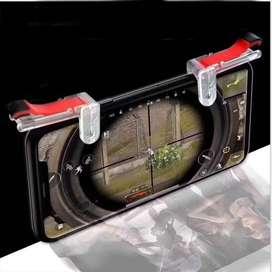 Gatillos Para Celular - Transparentes  L1 R1 -COD Fornite Freefire Pug