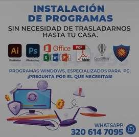 Programas de computadora laptop pc