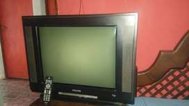 Tv philips ultra slim 21