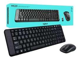 Combo De Teclado Y Mouse Inalàmbrico Logitech Mk220