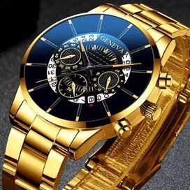 Reloj Génova metálico no acero hombre ilusión Of Time