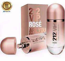 Perfume 212 Vip Rose Mujer 80 Ml Original Sellado