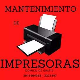 MANTENIMIENTO DE IMPRESORAS Suministros