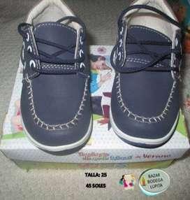 Vendo zapatos nuevos para niño