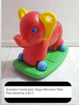 Andador, caminador, mecedor Vegui mecedor pata pata elefante 2 en 1..