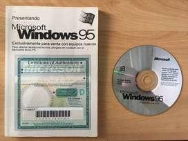 Windows 95 CD y Manual