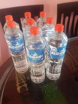 VENDO ALCOHOL DE 96 embotellado de 1 litro
