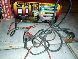 vendo cargador de batería enerbox 12v